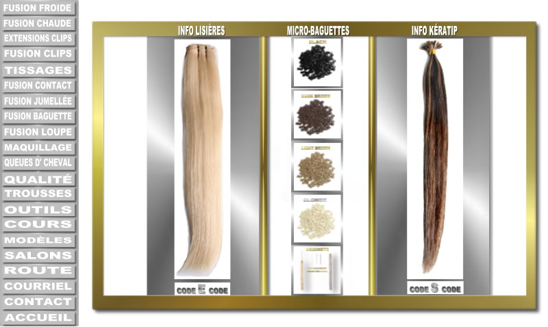 Hot Fusion Keratin Hair Extensions